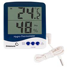 Termometr elektroniczny wewnętrzny i zewnętrzny z higrometrem 170602 Biowin