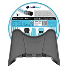 Zestaw zraszający BASIC 1/2'' 20mb + końcówka + wieszak 10-450 Cellfast