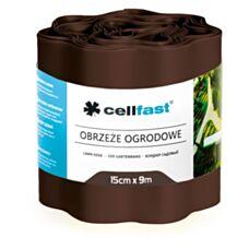 Obrzeże ogrodowe perforwane 15cmx9m brązowe 30-112H Cellfast