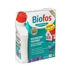 Biofos biologiczny preparat do szamb i oczyszczalni 1 kg + BIO Żel do WC 500 ml Inco