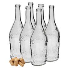 Butelka Domowa Nalewka 0,5 L z korkiem 6 sztuk Biowin 631603