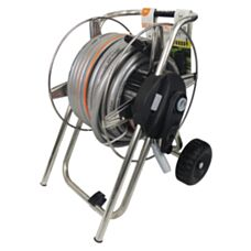 Zestaw wózek Metal Pronto 25 z wężem i złączkami 8906 Claber