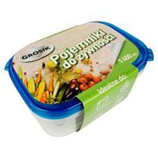 Pojemnik do żywności 1400 ml 2 szt Grosik