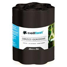 Obrzeże ogrodowe 20cm x 9mb czarne 30-033 Cellfast