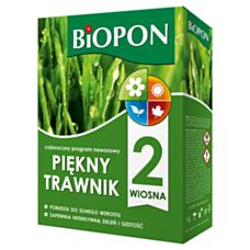 Nawóz Piękny trawnik wiosna 2kg Biopon