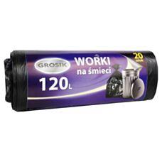 Worki na śmieci 120L hd 20 szt Grosik
