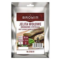Jelita naturalne wołowe 45-50mm 2szt Browin