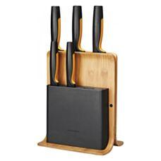 Zestaw 5 noży w bloku bambusowym Functional Form Fiskars 1057552