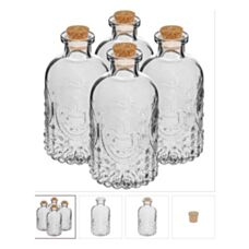 Butelka 240 ml z korkiem 4 szt. 610408 Browin