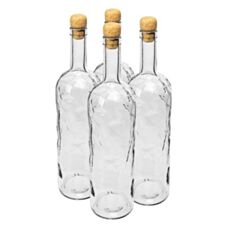 Butelka Kraina Lodu 1000 ml z korkiem 4 szt. Browin