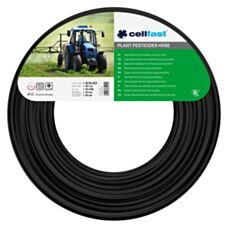 Wąż zbrojony do środków ochrony roślin 12,5x3,0mm 50mb czarny Cellfast 20-298