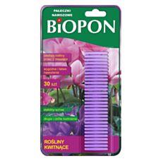 Pałeczki nawozowe do roślin kwitnących 30 sztuk Biopon