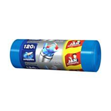 Worki Easy Pack niebieskie 120l 15 sztuk Jan Niezbędny