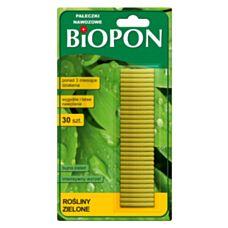 Pałeczki nawozowe do roślin zielonych 30 sztuk Biopon