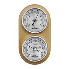 Barometr/Termometr wiszący (złote zegary) Biowin