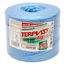 Sznurek TEX 1000 dł. 500mb - niebieski TERPLAST