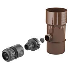 Odzyskiwacz wody deszczowej BRYZA 110 mm brąz 63-202 Cellfast