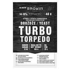 Drożdże gorzelnicze Turbo 48h 135g Biowin