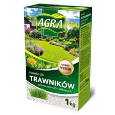 Nawóz granulowany do trawników zachwaszczonych 1kg Agra