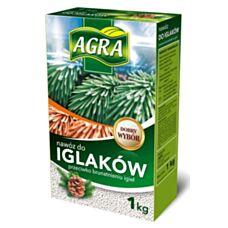 Nawóz granulowany do iglaków przeciw brązowieniu igieł 1 kg Agra