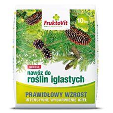 Nawóz do iglaków PLUS 10 kg FruktoVit Florovit