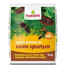 Nawóz jesienny do iglaków 10kg FruktoVit Florovit