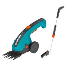 Akumulatorowe nożyce do trawnika z trzonkiem i kołami ClassicCut Gardena 9855-20