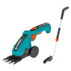 Akumulatorowe nożyce do trawnika z trzonkiem i kołami ClassicCut Gardena 9858-20