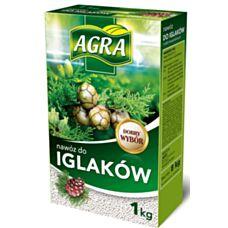 Nawóz granulowany do iglaków 1 kg Agra