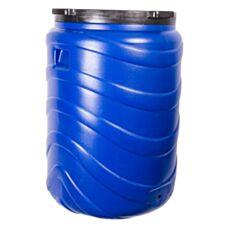 Beczka na kiszonki 130L niebieska Biowin 360132