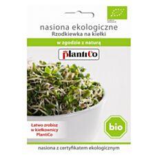 BIO Nasiona na kiełki Rzodkiewka 20g PlantiCo