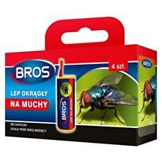Lep na muchy okrągły 4 sztuki Bros