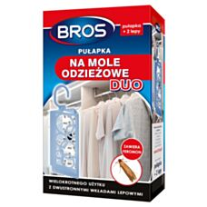 Pułapka na mole odzieżowe DUO+2 wkłady BROS