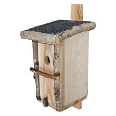 Budka lęgowa sosnowa fi 3,3 Euro Lux 20x17x40cm Drewdon