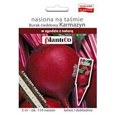Burak ćwikłowy Karmazyn nasiona na taśmie z nawozem 5L PlantiCo