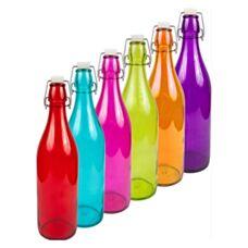 Butelka 1L z hermetycznym zamkiem - okrągła Biowin