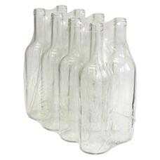 Butelka na wino 0,75 L biała 8 sztuk Biowin