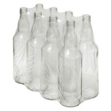 Butelki na wódkę 0,5 L 8 sztuk Biowin