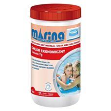 Chlor ekonomiczny (niestabilizowany) tabletki 7g - 1 kg Marina