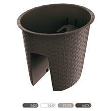 Doniczka balustradowa Ratolla Railing Oval DRLB300 Prosperplast