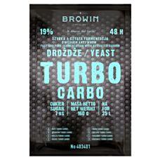 Drożdże gorzelnicze TURBO CARBO 160g Biowin