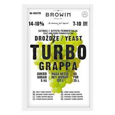 Drożdże gorzelnicze TurboGRAPPA 7-10 dni 120g Biowin