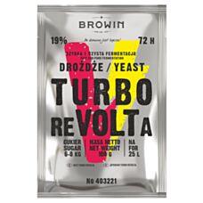 Drożdże gorzelnicze TURBO REVOLTA 72h Biowin