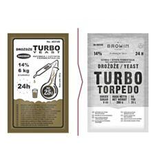 Drożdże gorzelnicze Turbo 24h 205 g Biowin