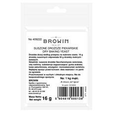 Drożdże piekarskie suszone 16g Biowin B409222