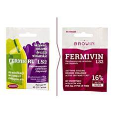 Drożdże winiarskie suszone Fermivin LS2 7g Biowin