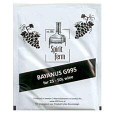 Drożdże winiarskie Bayanus G995 10g