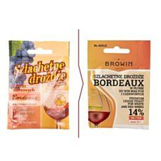 Drożdże winiarskie - Bordeaux 20 ml Biowin