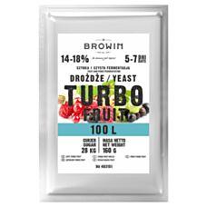 Drożdże gorzelnicze TURBO Fruit 5 -7 dni 100 L Biowin