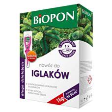 Nawóz długo działający do iglaków 1 kg Biopon